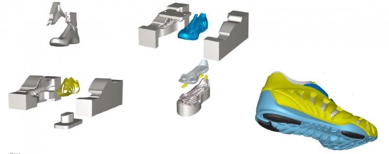 Covestro Oldenburg - PUR als leichter Werkstoff im Schuh